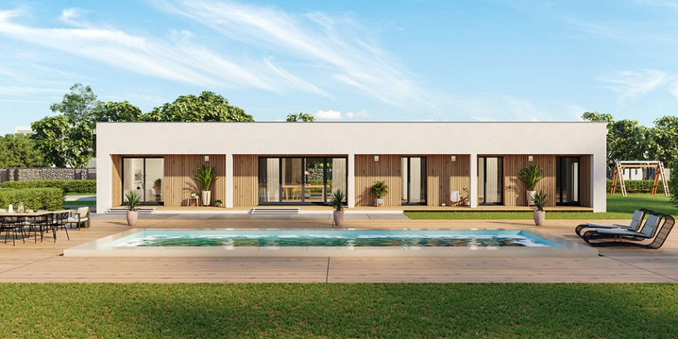 Maisons + Terrains du constructeur MAISONS FRANCE CONFORT • 95 m² • POUILLEY LES VIGNES