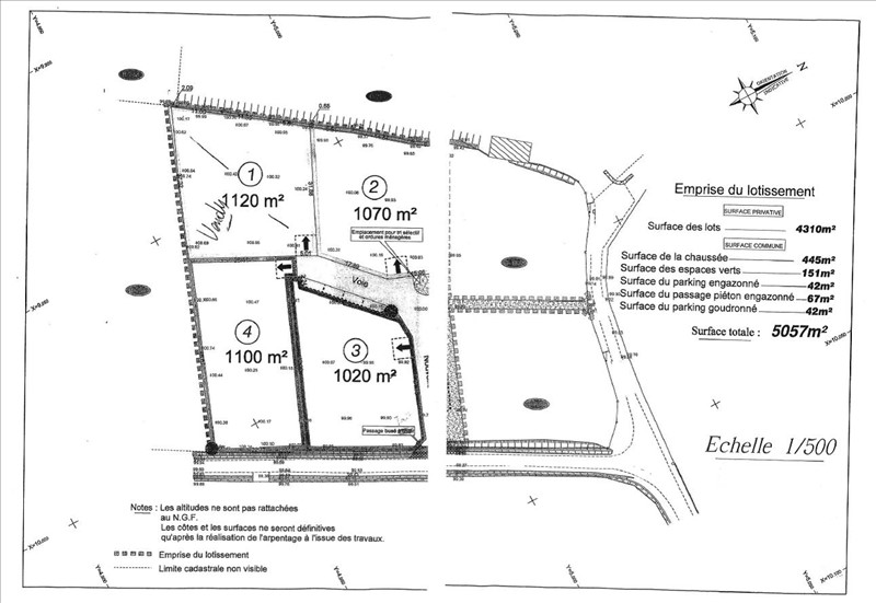 Terrains du constructeur GROUPE IMMO64 SERRES CASTET • 1070 m² • BENEJACQ