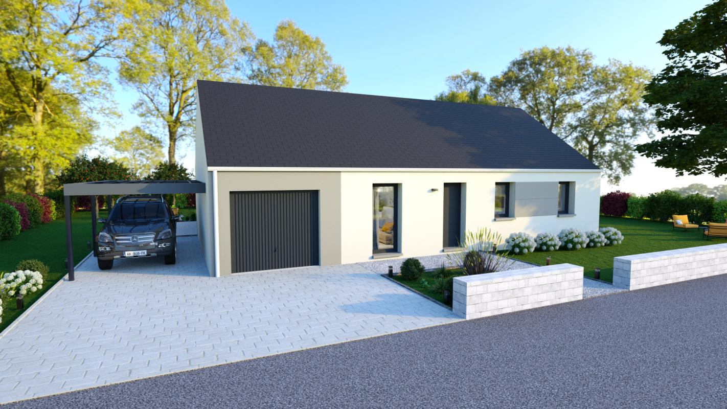 Maisons + Terrains du constructeur MAISONS VIGERY • 91 m² • NEUVILLE AUX BOIS