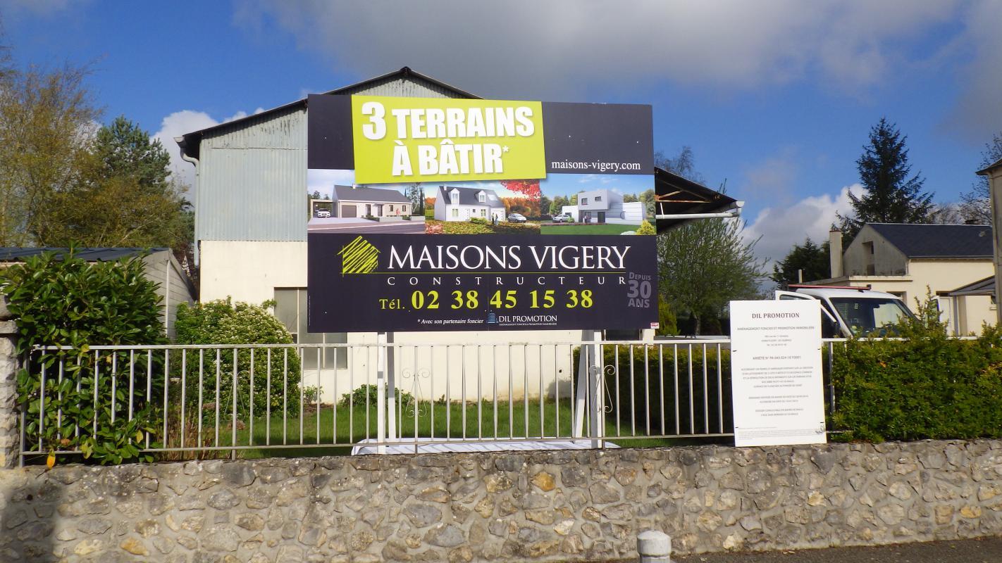 Terrains du constructeur MAISONS VIGERY • 726 m² • MEUNG SUR LOIRE