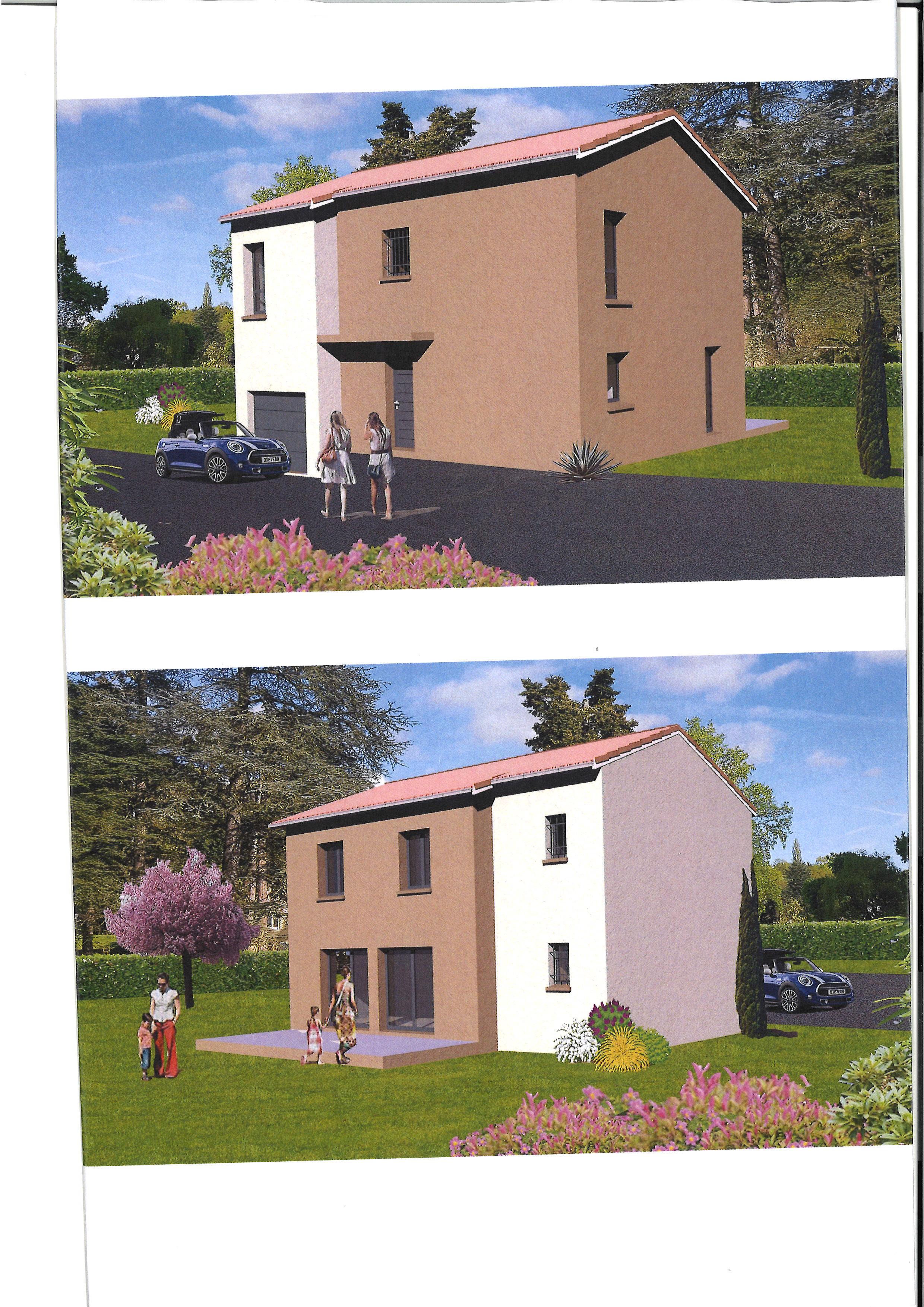 Maisons + Terrains du constructeur MAISON AXIAL • 114 m² • ALBIGNY SUR SAONE
