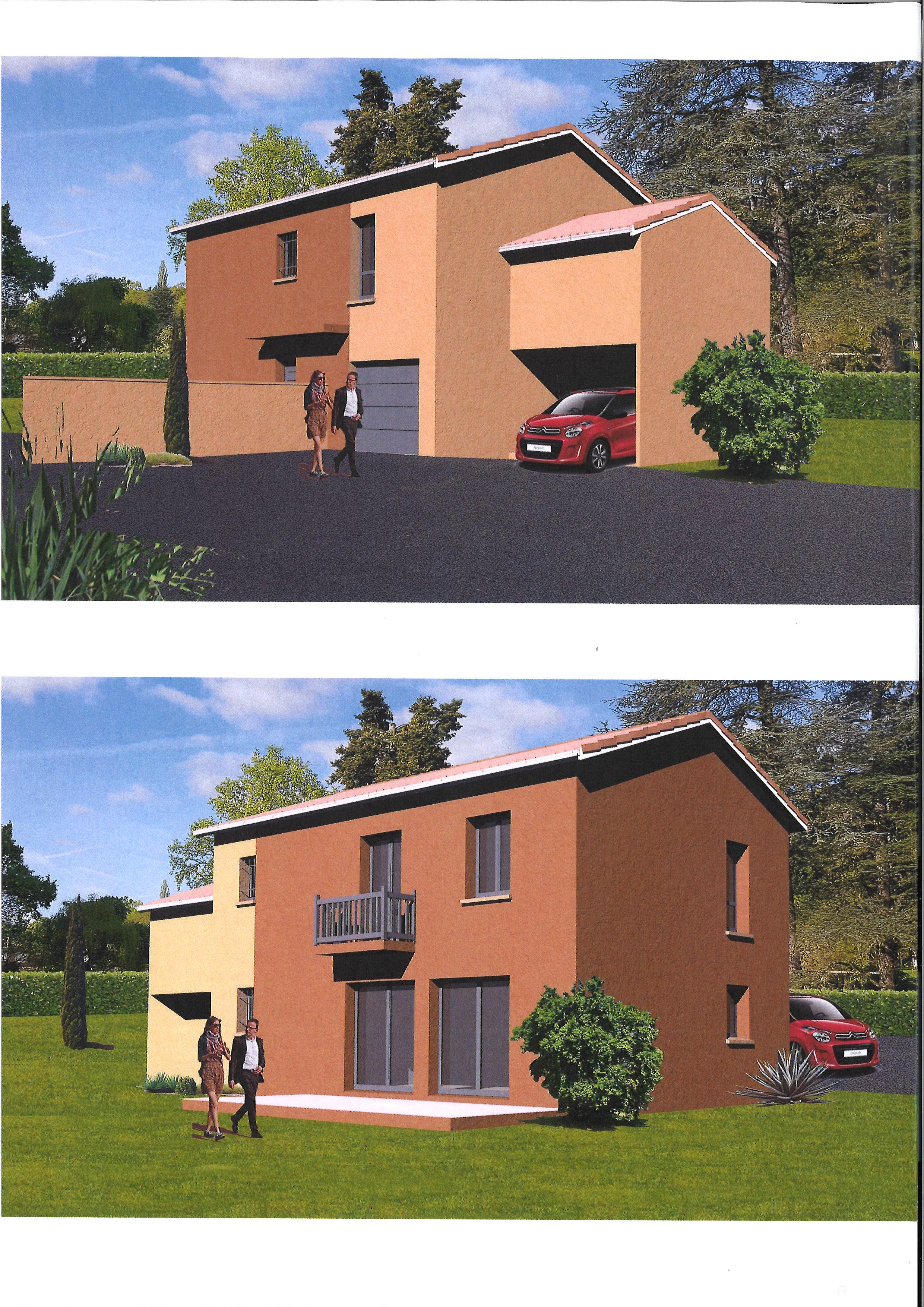 Maisons + Terrains du constructeur MAISON AXIAL • 114 m² • NEUVILLE SUR SAONE