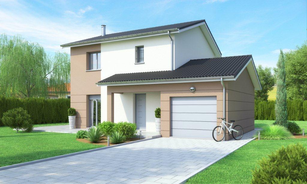 Maisons + Terrains du constructeur MAISON AXIAL • 108 m² • FRONTENAS