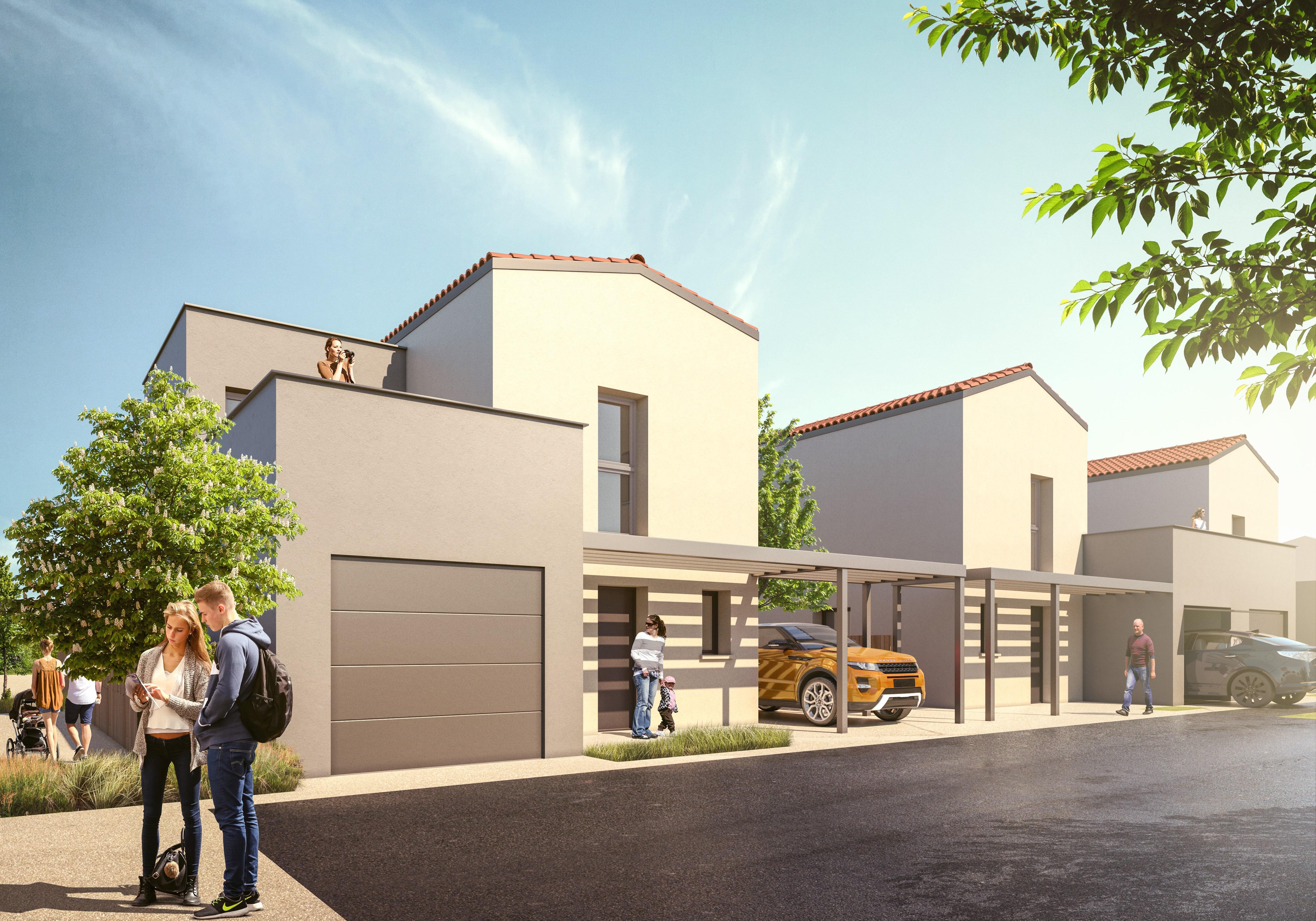 Maisons + Terrains du constructeur MAISON AXIAL • 84 m² • DOMMARTIN