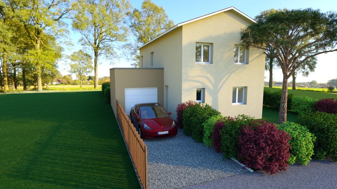 Maisons + Terrains du constructeur MAISON AXIAL • 120 m² • CORBAS