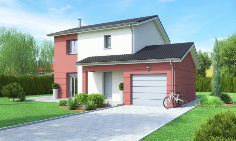 Maisons + Terrains du constructeur MAISONS AXIAL • 111 m² • LES OLMES