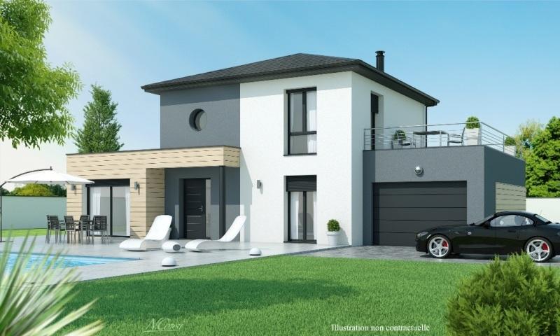 Maisons + Terrains du constructeur MAISONS AXIAL • 120 m² • PUSIGNAN
