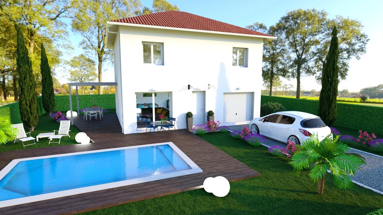 Maisons + Terrains du constructeur Maisons TIP TOP • 80 m² • LIVET ET GAVET
