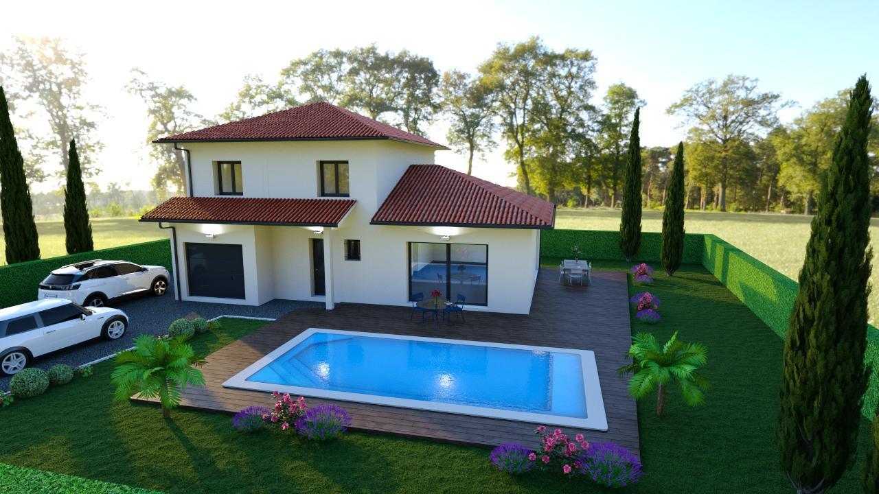 Maisons + Terrains du constructeur Maisons TIP TOP • 115 m² • SAINT GEOIRE EN VALDAINE