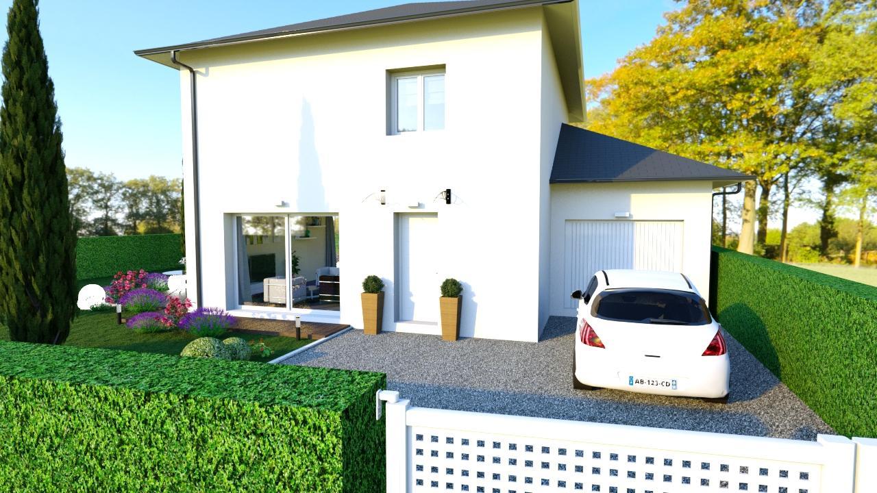 Maisons + Terrains du constructeur Maisons TIP TOP • 100 m² • BREZINS