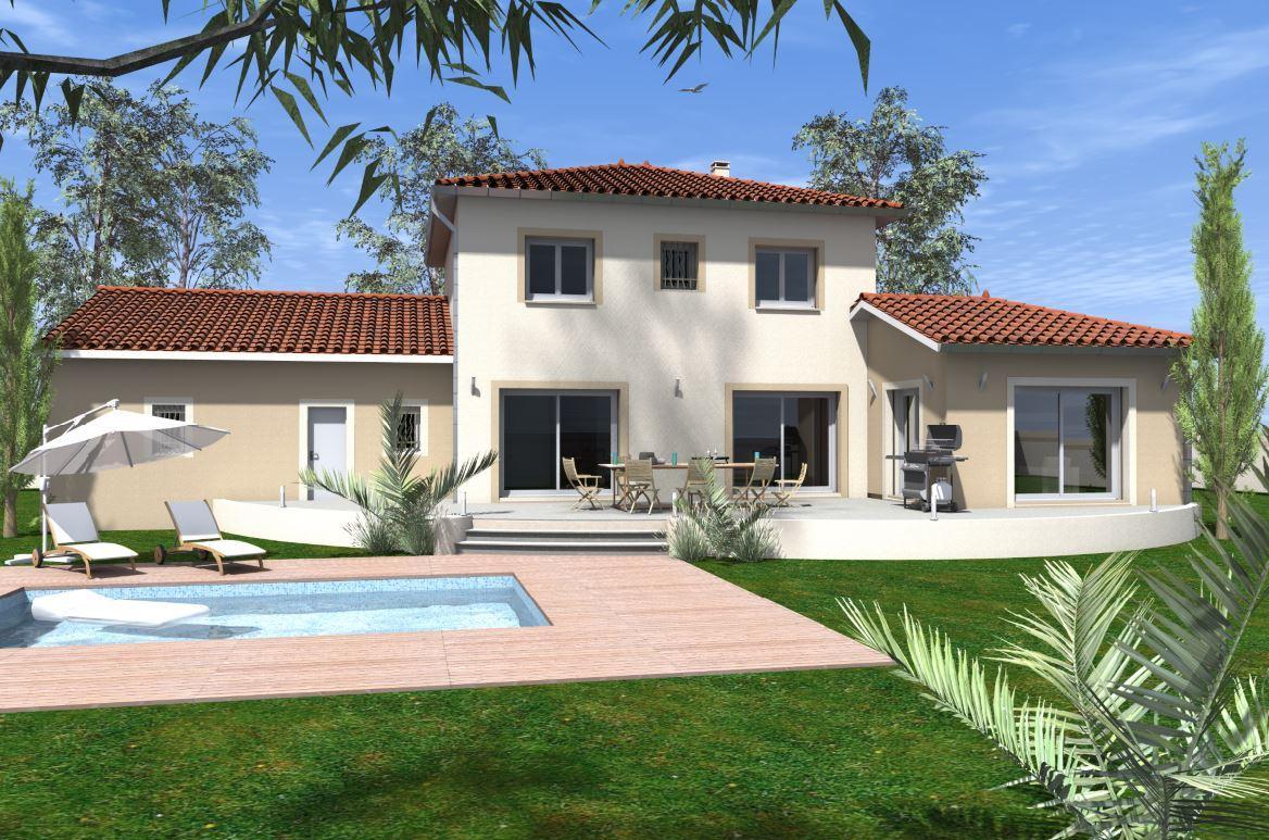 Maisons du constructeur MAISON IDEALE 26 • 111 m² • SAINT DONAT SUR L'HERBASSE