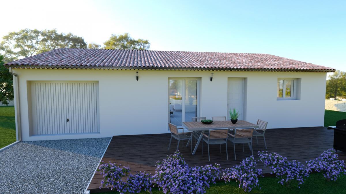 Maisons du constructeur MAISON IDEALE 26 • 89 m² • LA BATIE ROLLAND