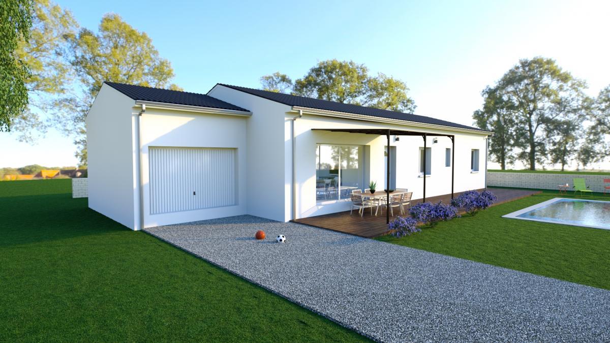 Maisons du constructeur MAISON IDEALE 26 • 75 m² • LA LAUPIE