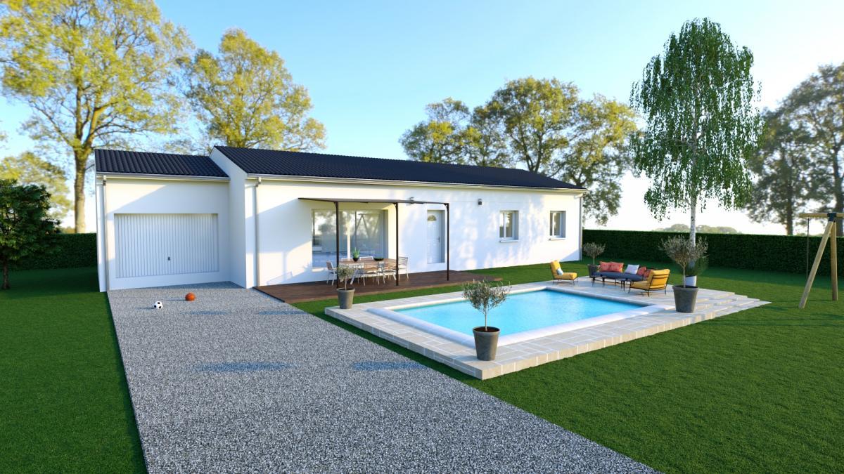 Maisons du constructeur MAISON IDEALE 26 • 75 m² • CHATEAUNEUF DU RHONE
