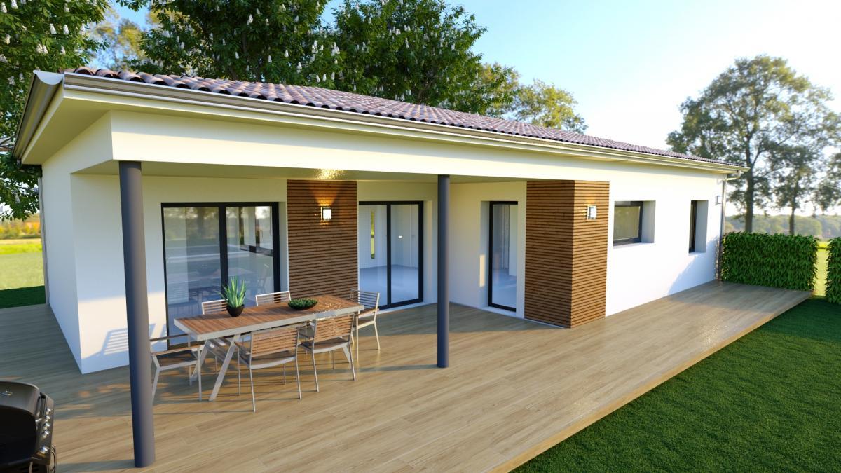 Maisons du constructeur MAISON IDEALE 26 • 101 m² • SAINT PAUL TROIS CHATEAUX