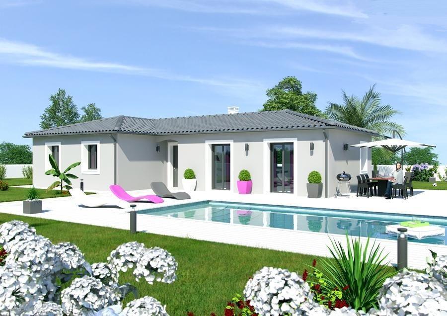 Maisons du constructeur MAISON IDEALE 26 • 80 m² • PIEGROS LA CLASTRE
