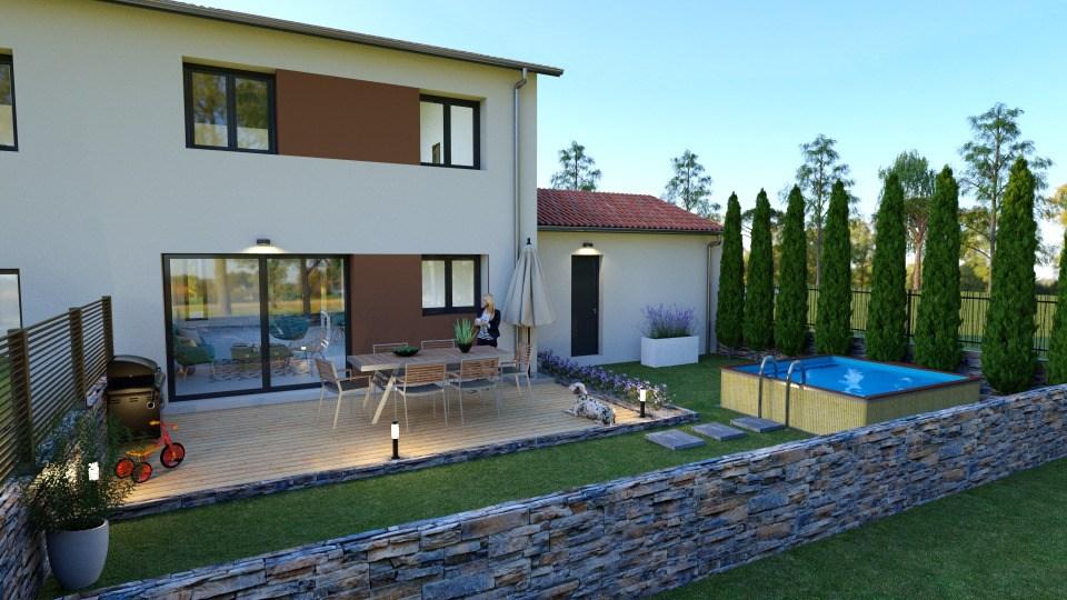 Maisons + Terrains du constructeur MAISONS FRANCE CONFORT • 95 m² • MIONNAY