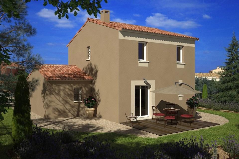 Maisons + Terrains du constructeur LES MAISONS DE MANON - GARDANNE • 95 m² • ROGNES