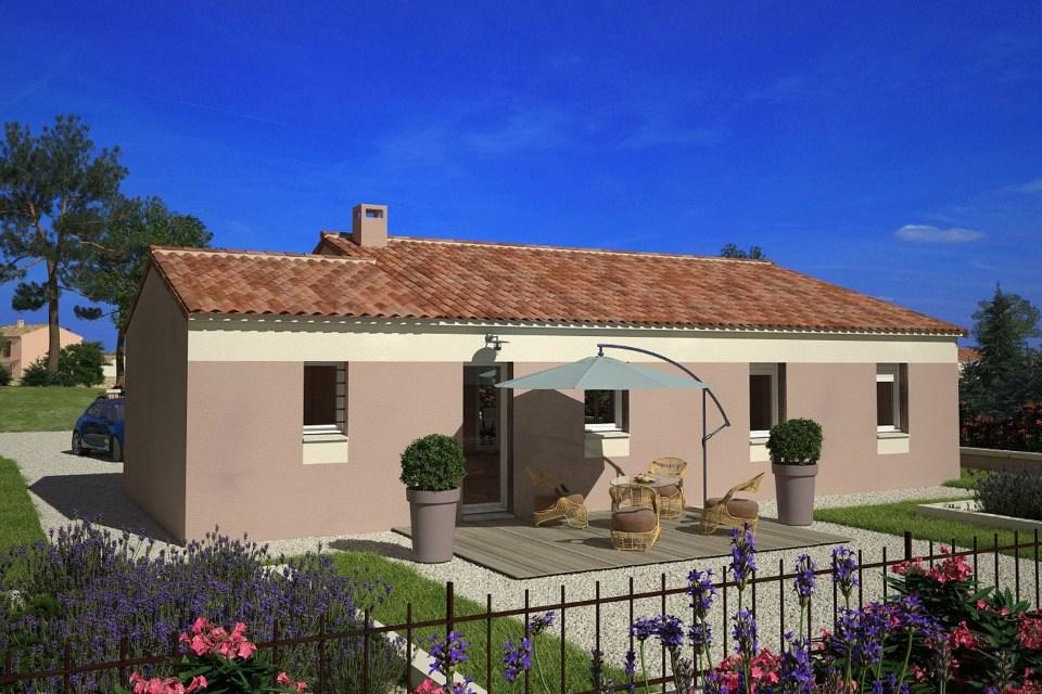 Maisons + Terrains du constructeur LES MAISONS DE MANON - GARDANNE • 74 m² • PEYROLLES EN PROVENCE