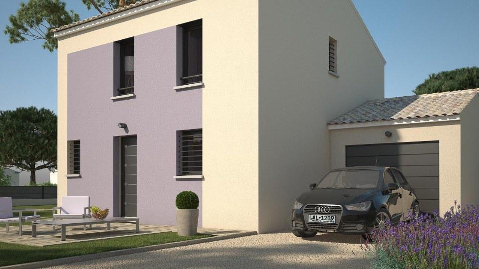 Maisons + Terrains du constructeur LES MAISONS DE MANON - GARDANNE • 84 m² • PEYROLLES EN PROVENCE