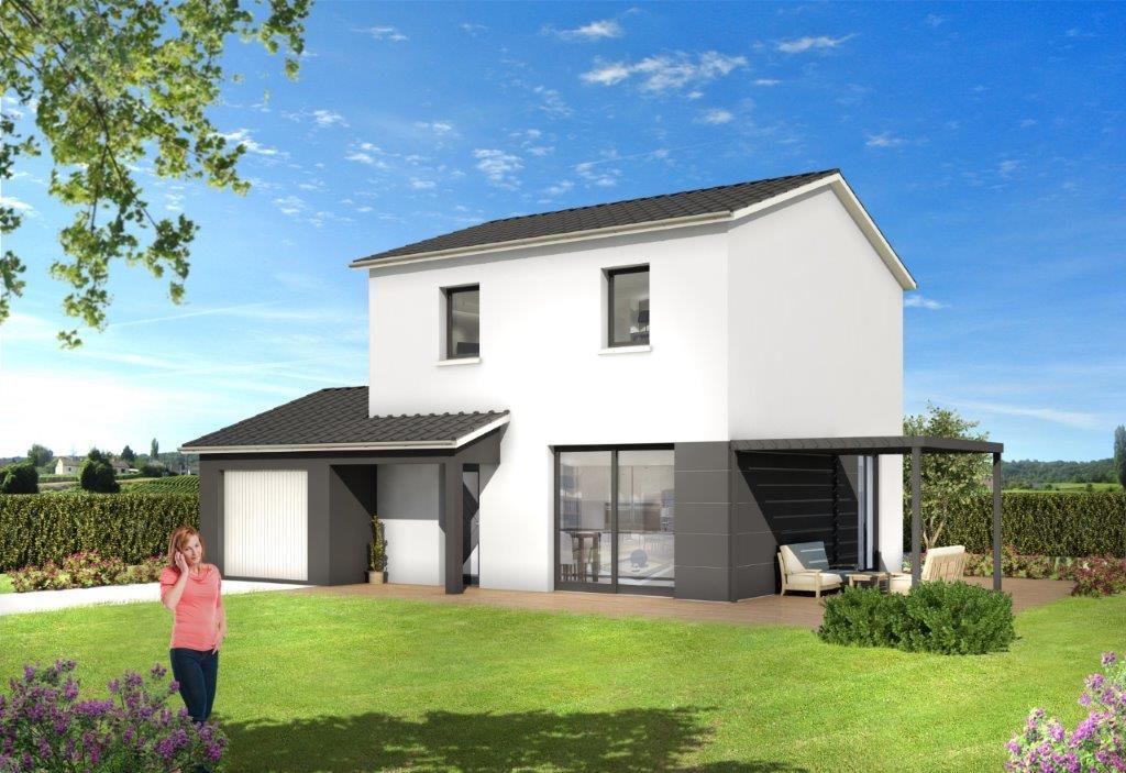 Maisons du constructeur JBM MAISONS INDIVIDUELLES • 104 m² • SAINTE SIGOLENE
