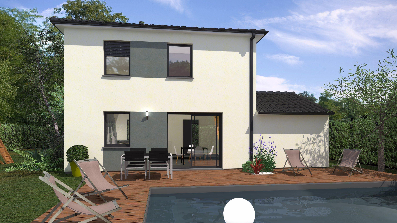 Maisons + Terrains du constructeur Maison Familiale Andrezieux Boutheon • 99 m² • SAINT CHAMOND