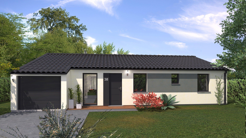 Maisons + Terrains du constructeur Maison Familiale Andrezieux Boutheon • 102 m² • SAINT JEAN SOLEYMIEUX