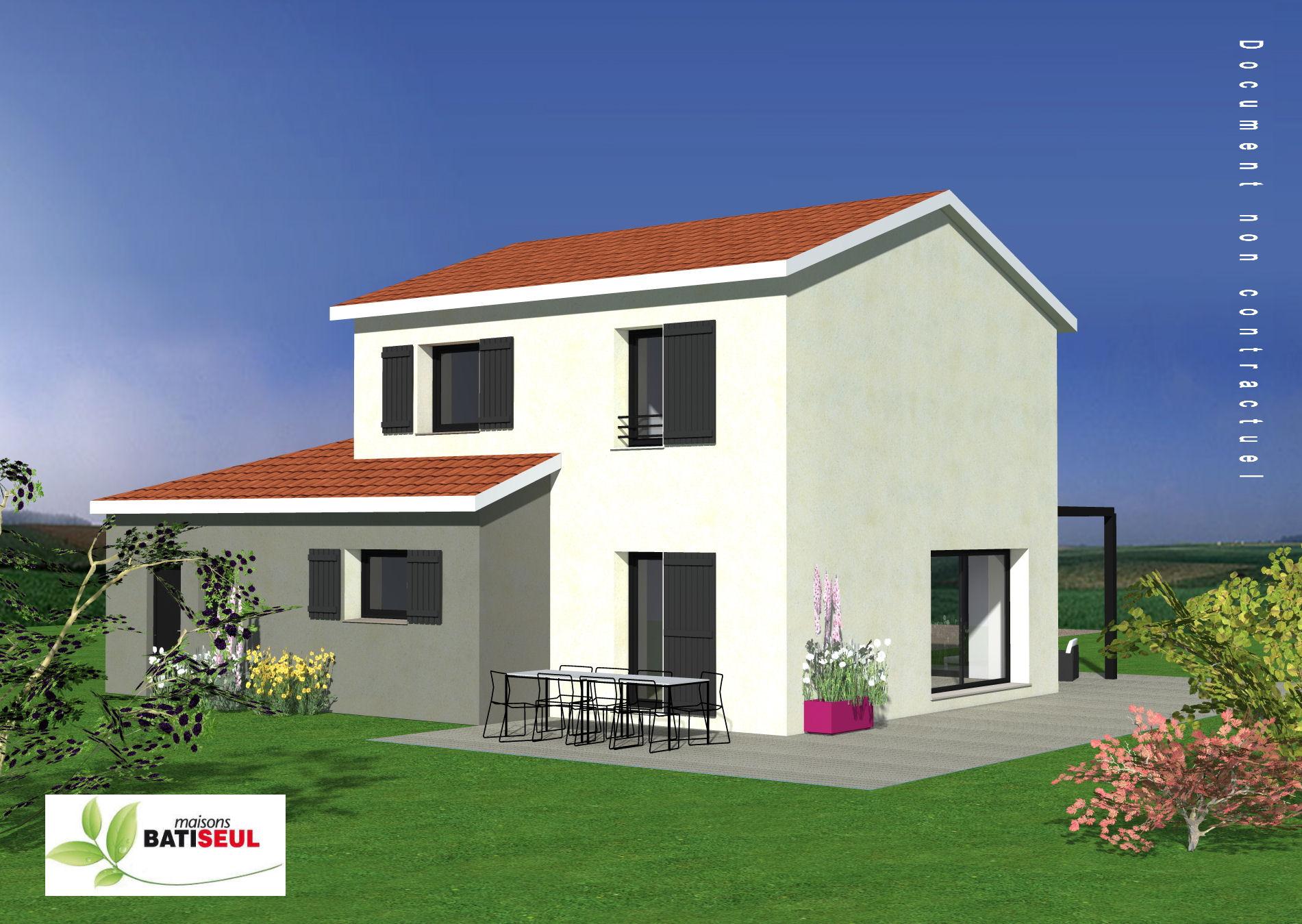 Maisons + Terrains du constructeur MAISONS BATISEUL • SAINT MAURICE DE LIGNON