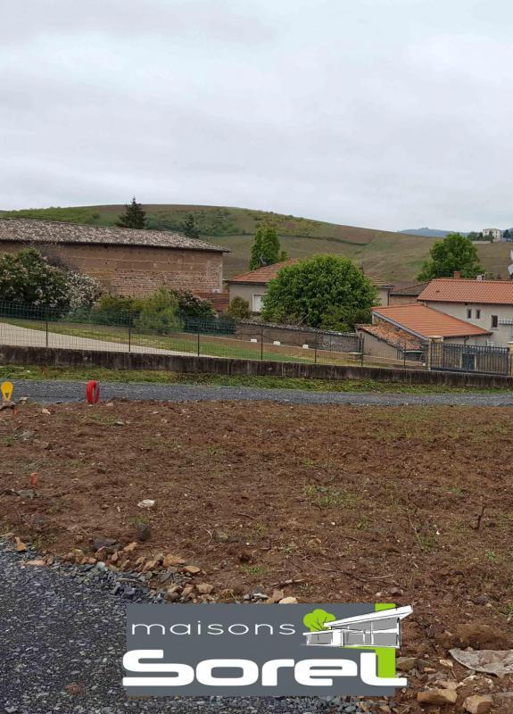 Terrains du constructeur SOREL S A • 743 m² • SALLES ARBUISSONNAS BEAUJOLAIS