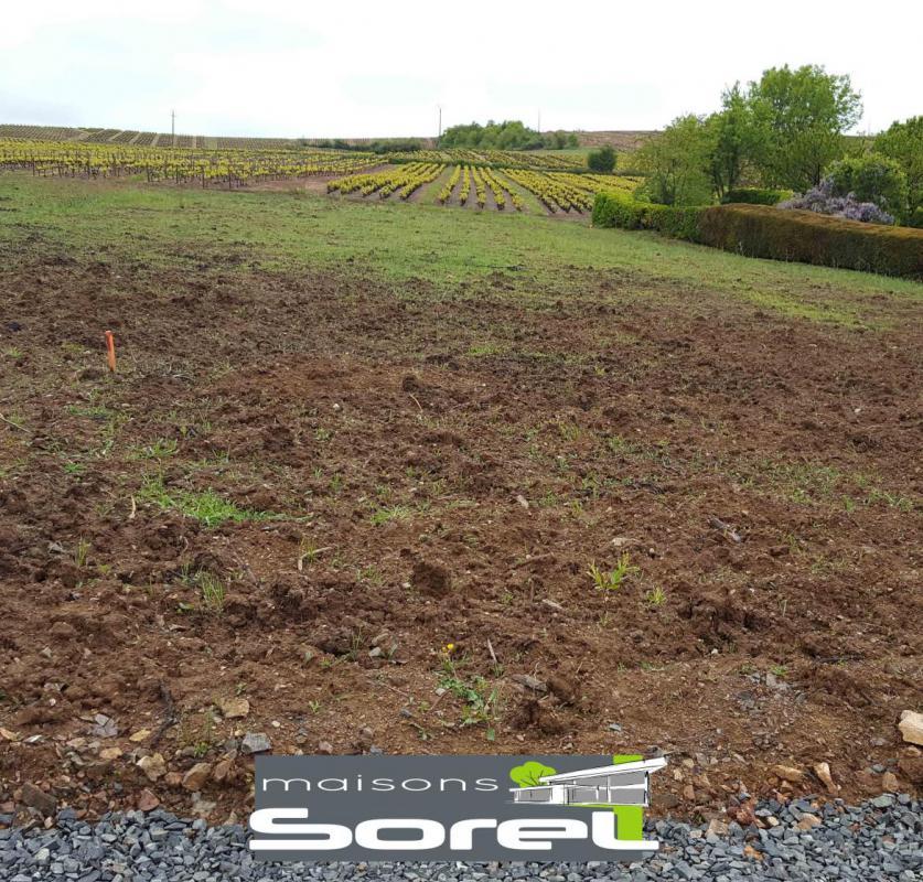 Terrains du constructeur SOREL S A • 1412 m² • SALLES ARBUISSONNAS BEAUJOLAIS