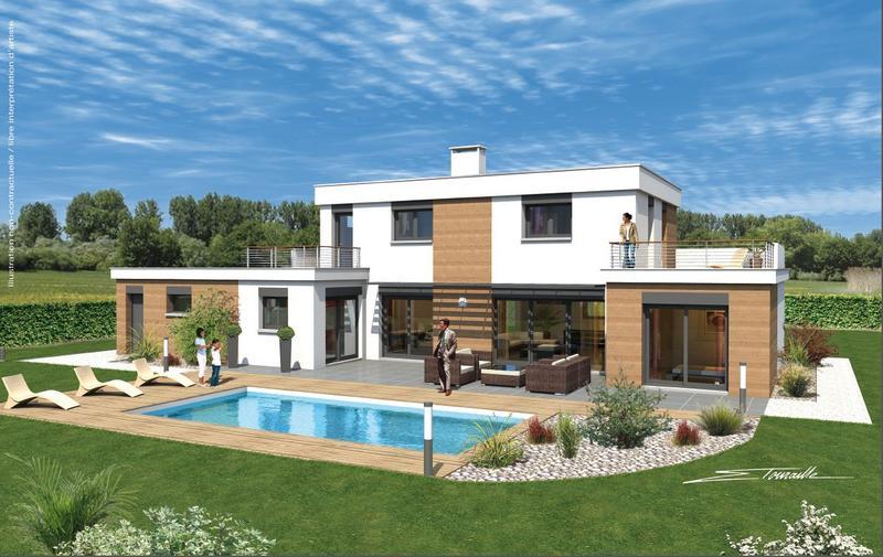 Maisons + Terrains du constructeur SOREL S A •  m² • CHAMPAGNE AU MONT D'OR