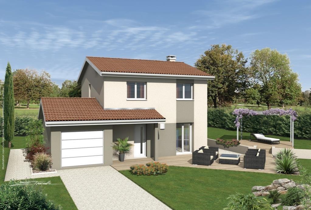 Terrains du constructeur SOREL S A • 200 m² • LUCENAY