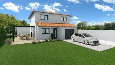Maisons + Terrains du constructeur SOREL S A •  m² • FLEURIE