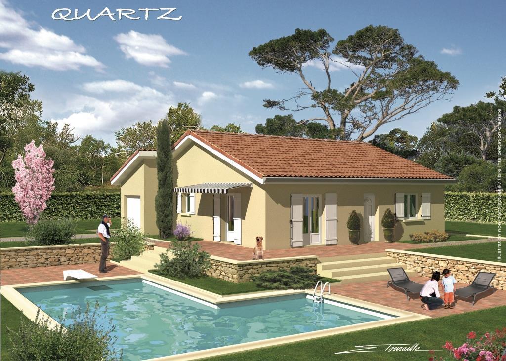 Maisons + Terrains du constructeur SOREL S A •  m² • SAINT LAURENT DE MURE