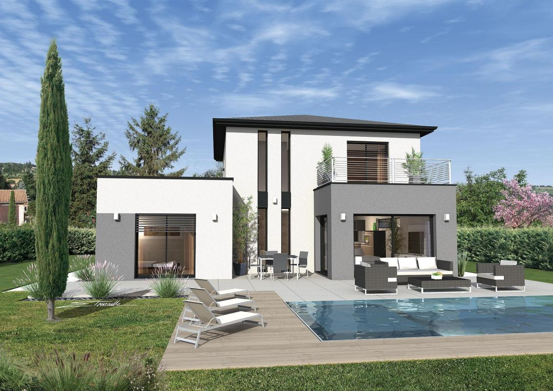 Maisons + Terrains du constructeur SOREL S A •  m² • IRIGNY