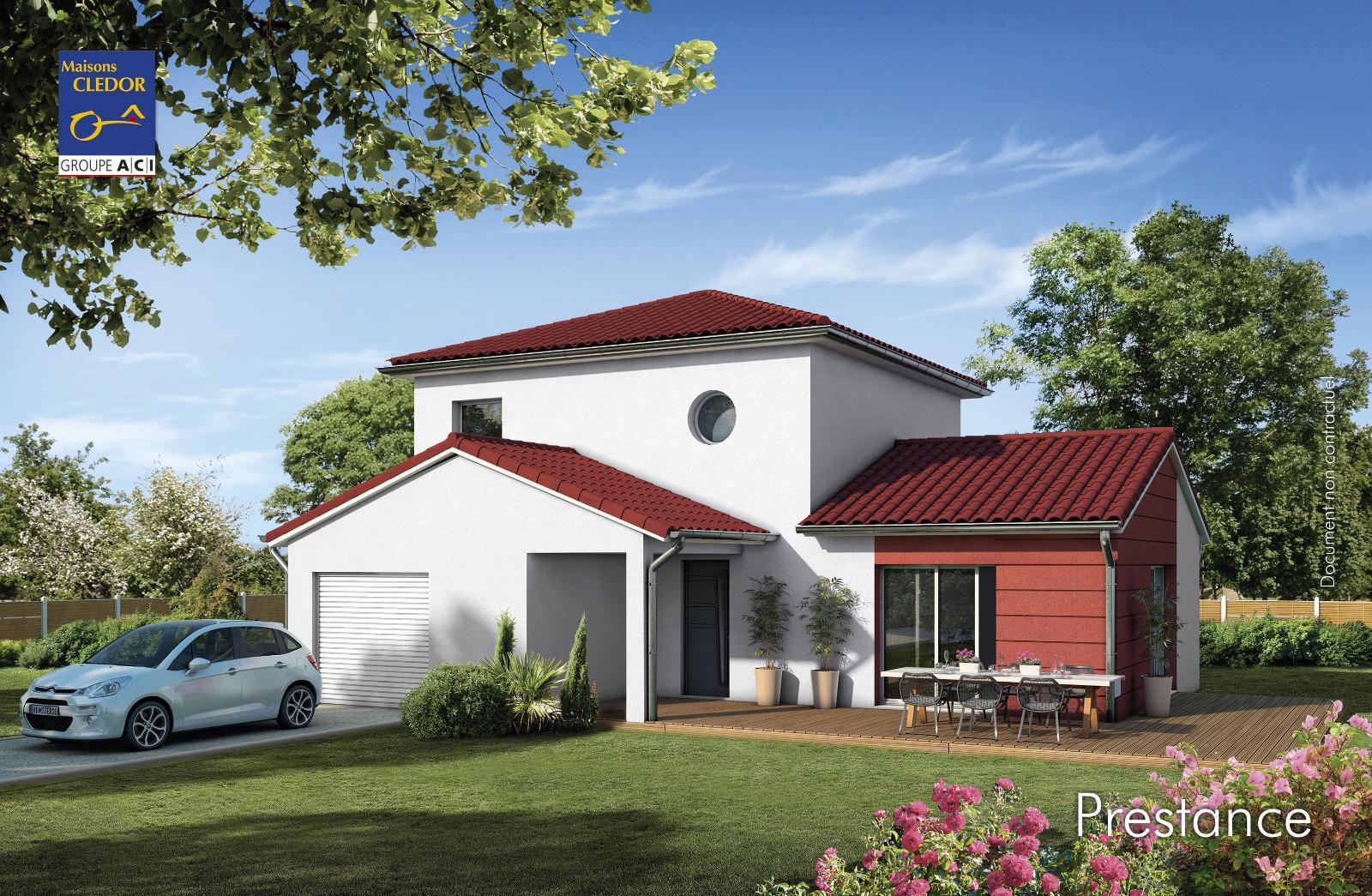 Maisons du constructeur MAISONS CLEDOR • 107 m² • ROMAGNAT