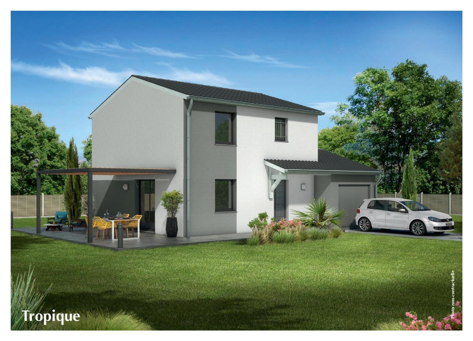 Terrains du constructeur MAISONS CLEDOR •  m² • LEZOUX