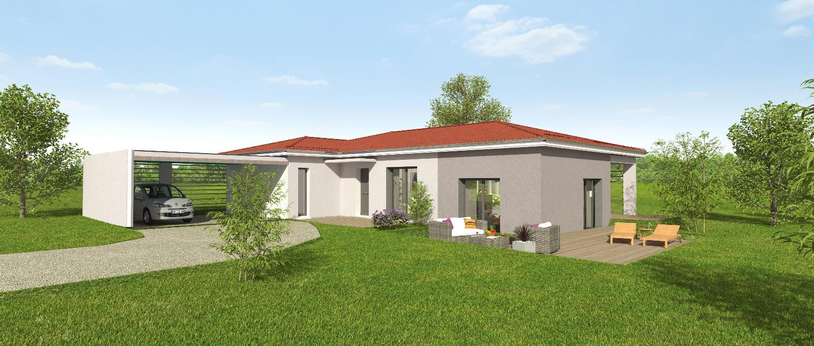 Terrains du constructeur MAISONS CLEDOR •  m² • PARENTIGNAT