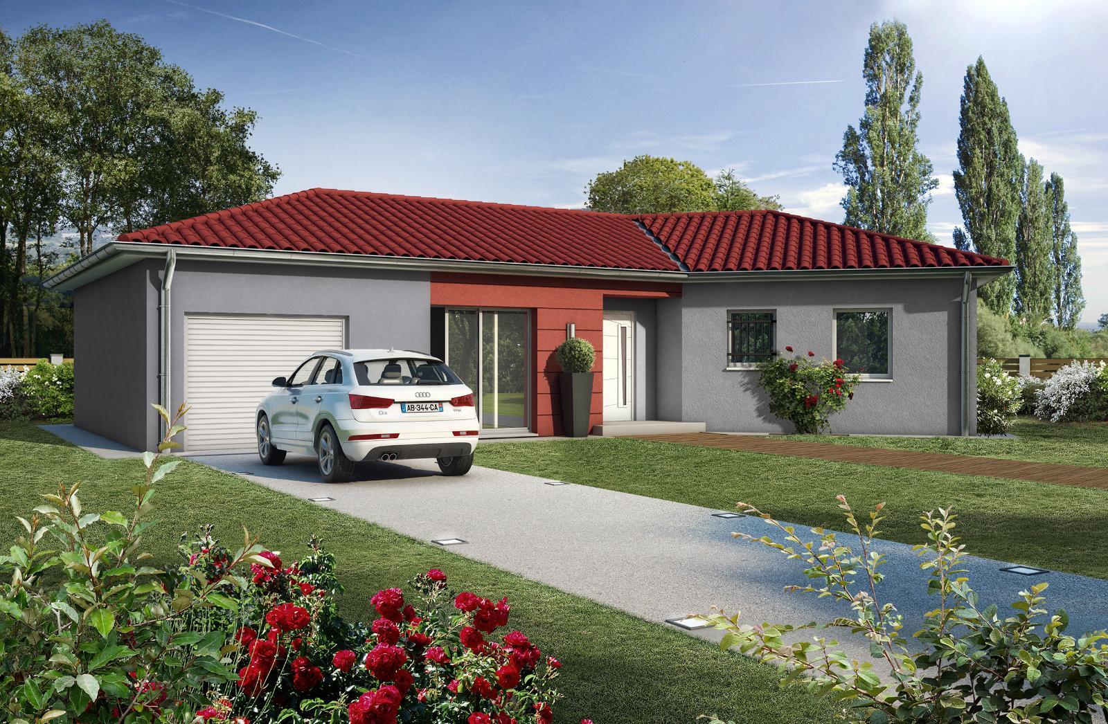 Terrains du constructeur MAISONS CLEDOR •  m² • BERGONNE