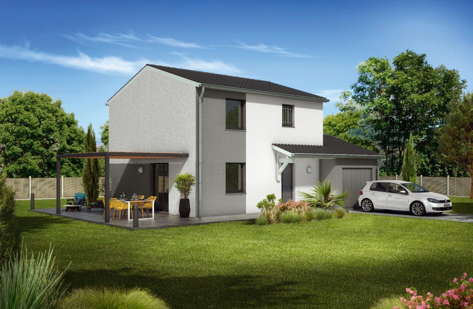 Maisons du constructeur MAISONS CLEDOR • 90 m² • PARENTIGNAT