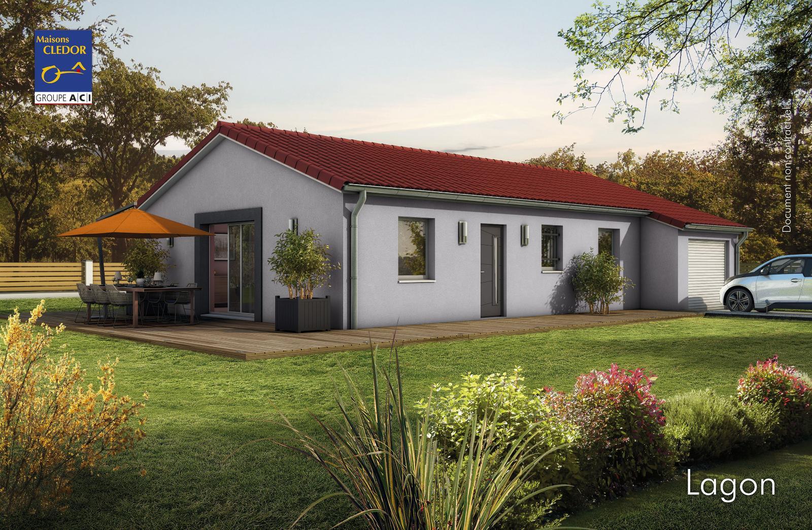 Maisons du constructeur MAISONS CLEDOR • 80 m² • AIGUEPERSE
