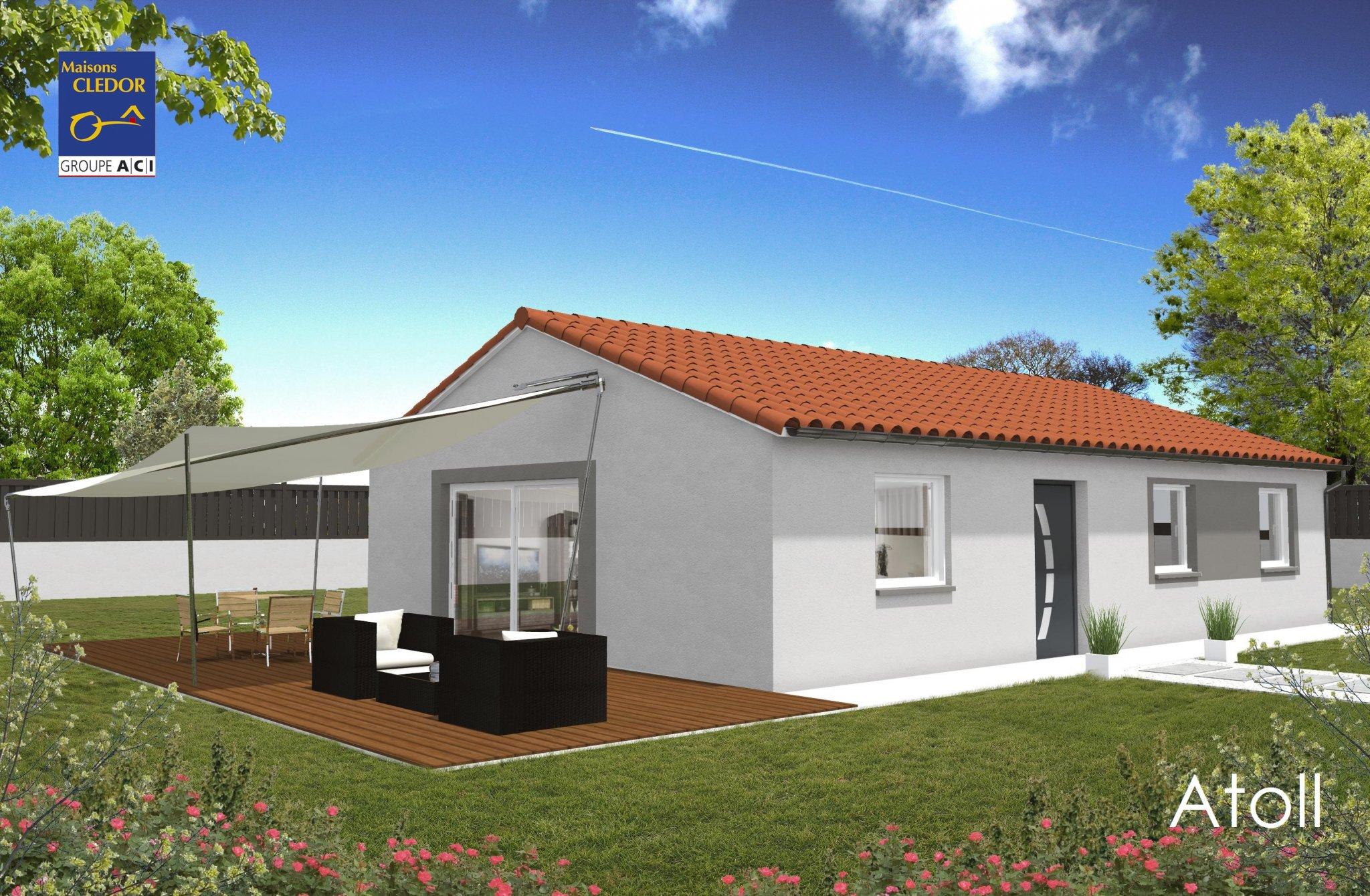 Maisons du constructeur MAISONS CLEDOR • 80 m² • PARENTIGNAT