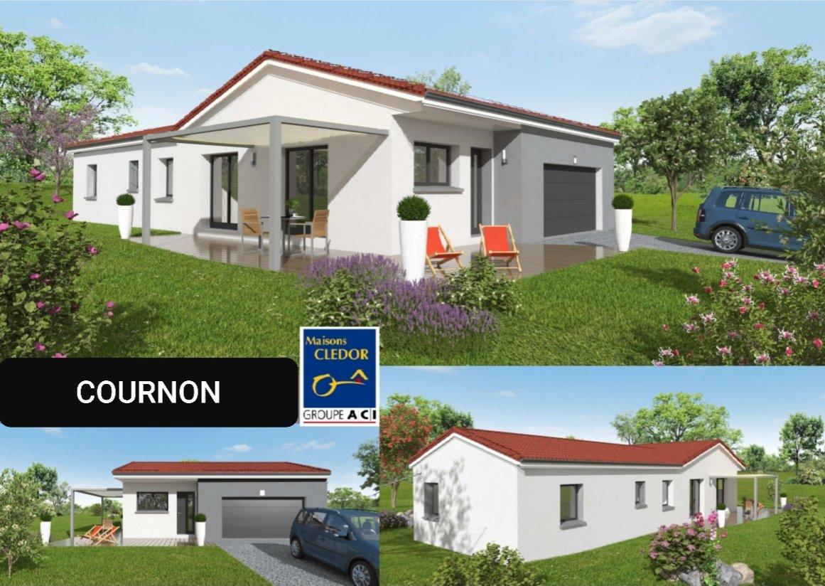 Maisons du constructeur MAISONS CLEDOR • 105 m² • COURNON D'AUVERGNE