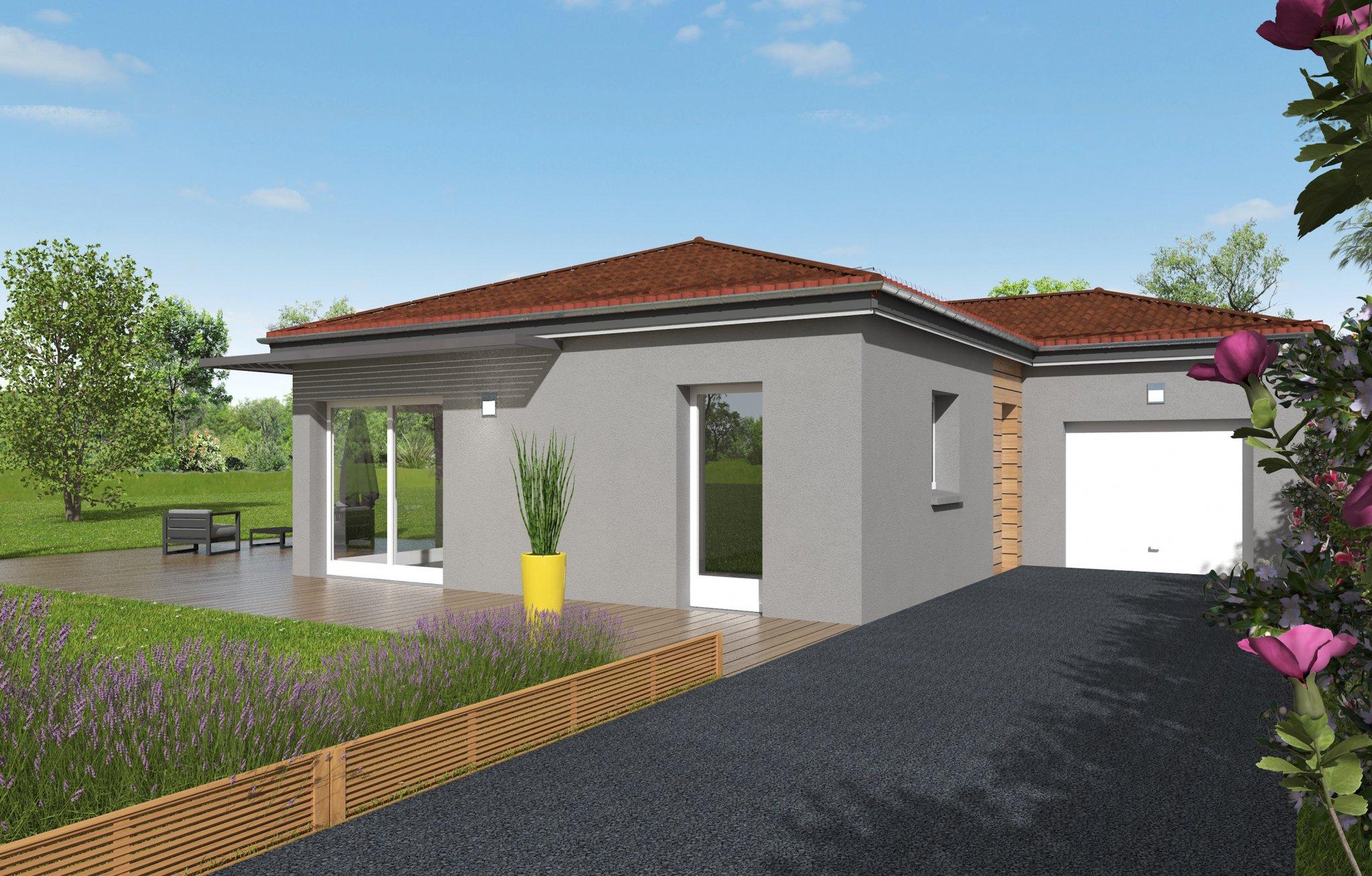 Maisons du constructeur MAISONS CLEDOR • 92 m² • CHANONAT