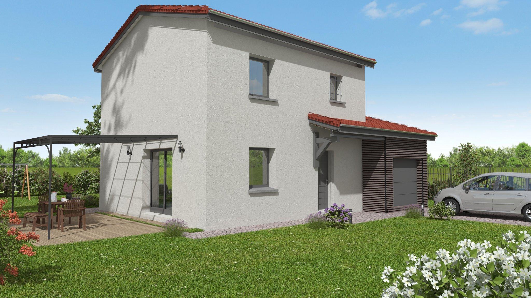 Maisons du constructeur MAISONS CLEDOR • 100 m² • CEBAZAT