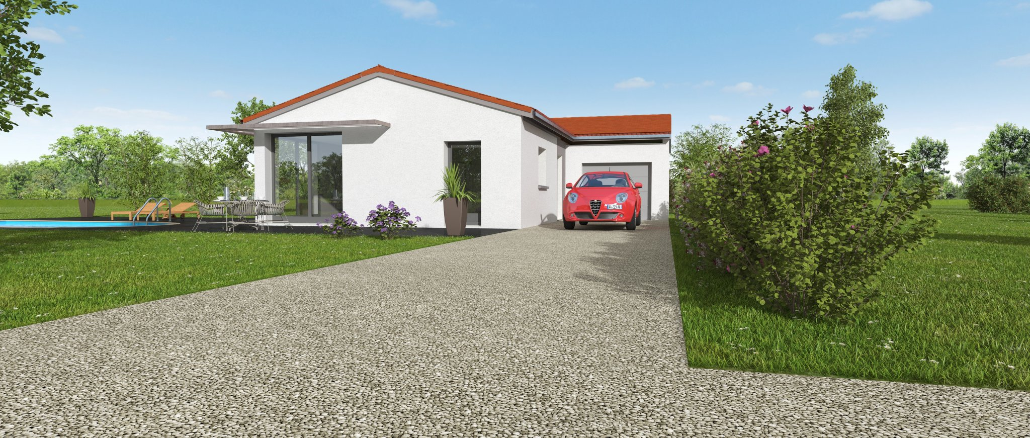 Maisons du constructeur MAISONS CLEDOR • 95 m² • TEILHEDE