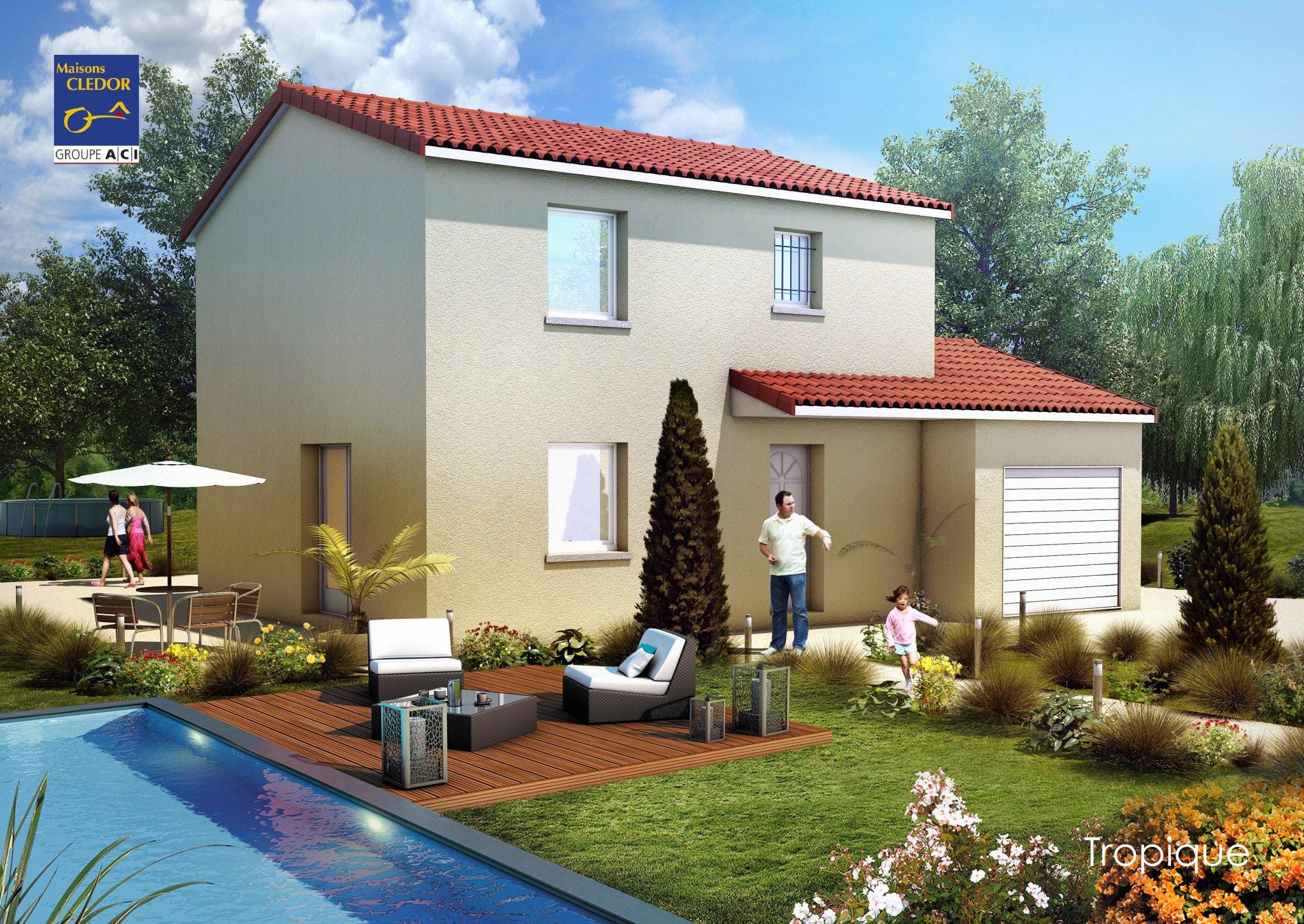 Maisons du constructeur MAISONS CLEDOR • 113 m² • CEBAZAT