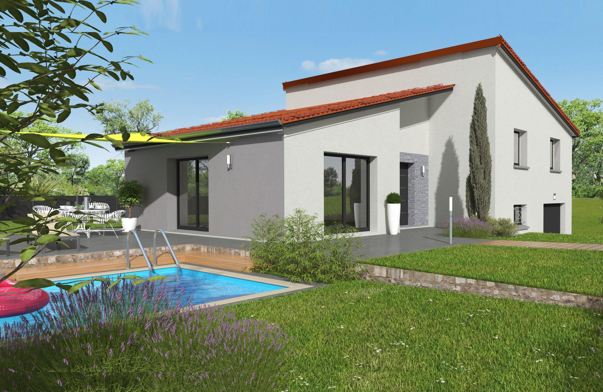 Maisons du constructeur MAISONS CLEDOR • 110 m² • CHANONAT