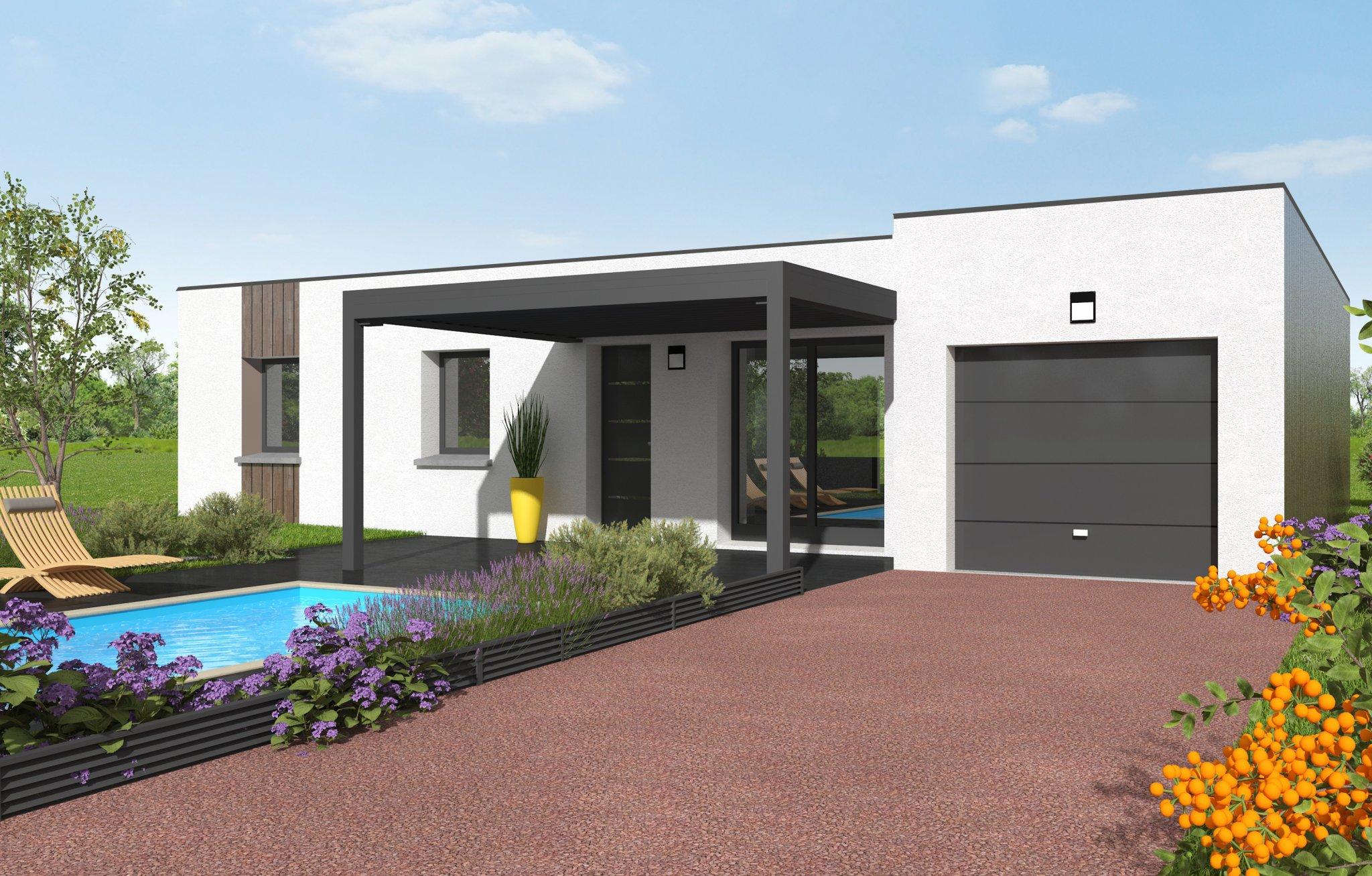 Terrains du constructeur MAISONS CLEDOR • 608 m² • GERZAT