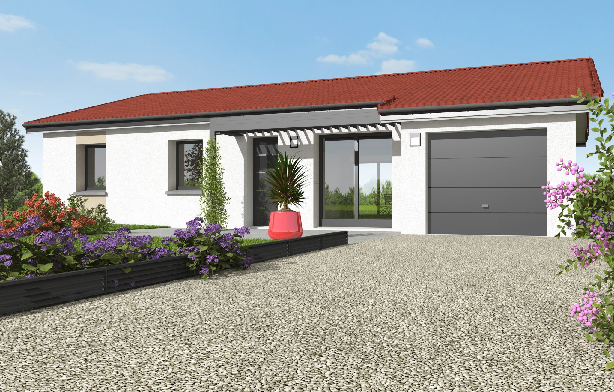 Maisons du constructeur MAISONS CLEDOR • 90 m² • ORLEAT